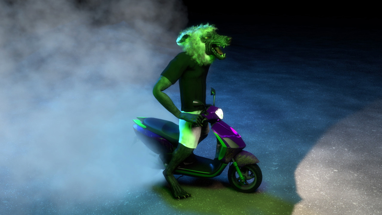 Takeshi Murata: Om Rider