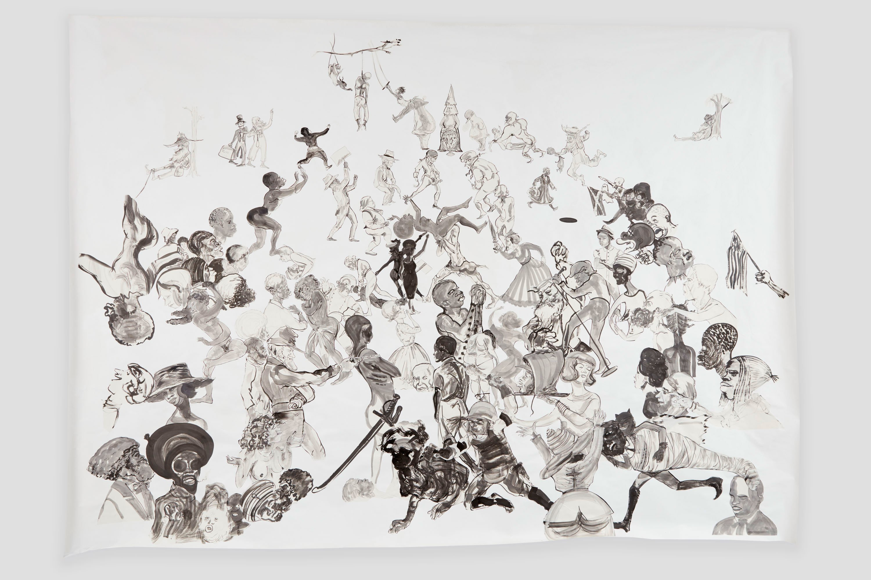 Kara Walker: The most Astounding and Important Painting show of the fall Art Show viewing season!