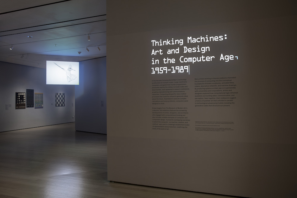 Thinking Machines: Art and Design in the Computer Age, 1959–1989
