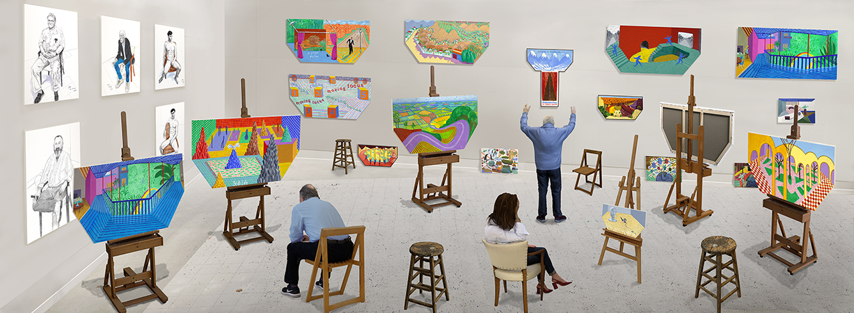 David Hockney: Something New in Painting (and Photography) [and even Printing]